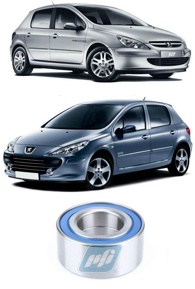 Rolamento de Roda Dianteira PEUGEOT 307 2000-2012, sem ABS