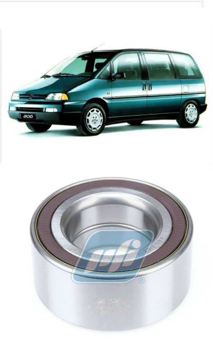 Rolamento de Roda Dianteira PEUGEOT 806 de 1994 até 2002, com e sem ABS