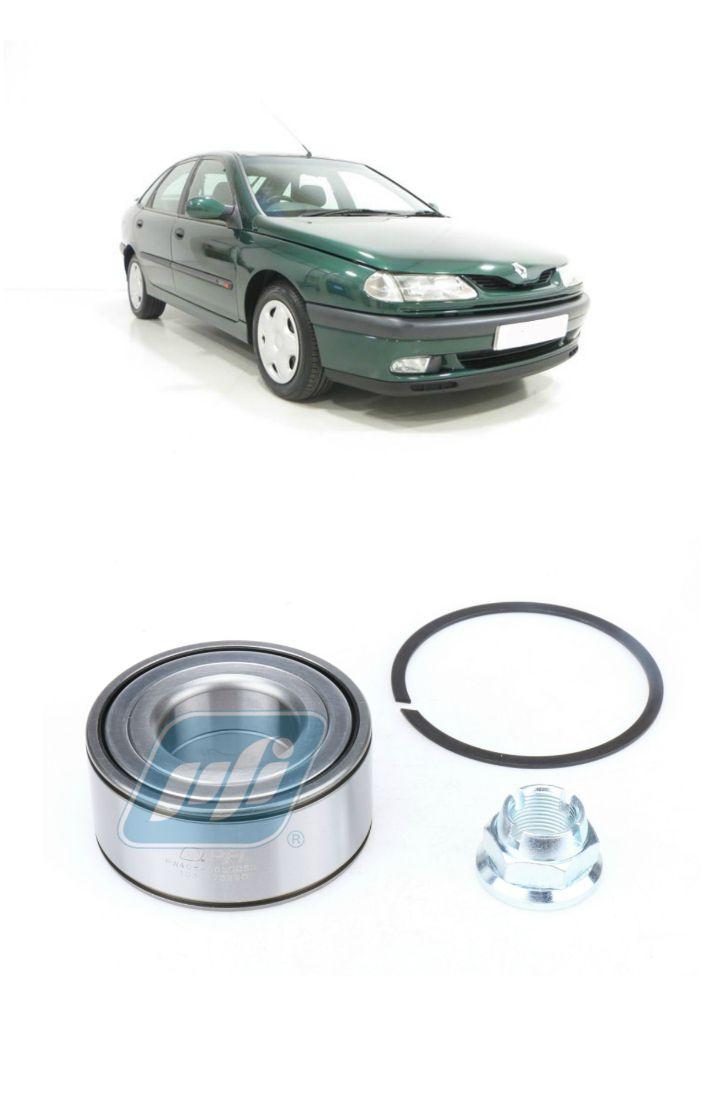Rolamento de Roda Dianteira RENAULT Laguna 1997 até 2001, sem ABS