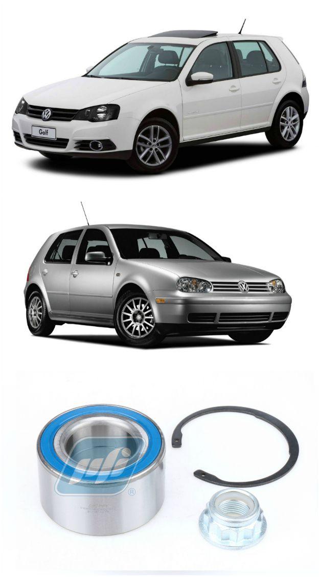 Rolamento de Roda Dianteira VW Golf 1997-2013 com kit reparo