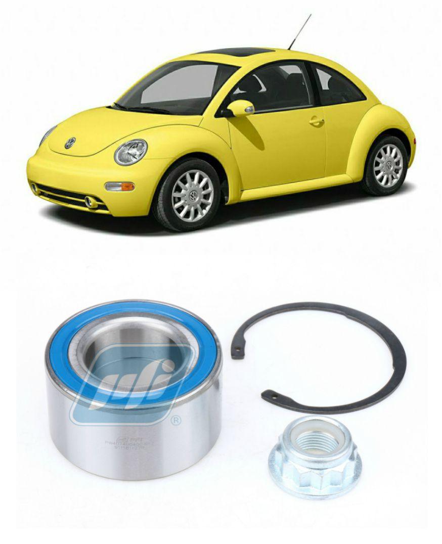 Rolamento de Roda Dianteira VW New Beetle 1999-2010 com kit reparo