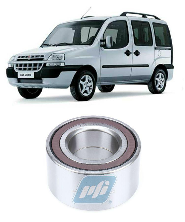 Rolamento de Roda Dianteiro FIAT Doblo 2006 até 2019, ABS