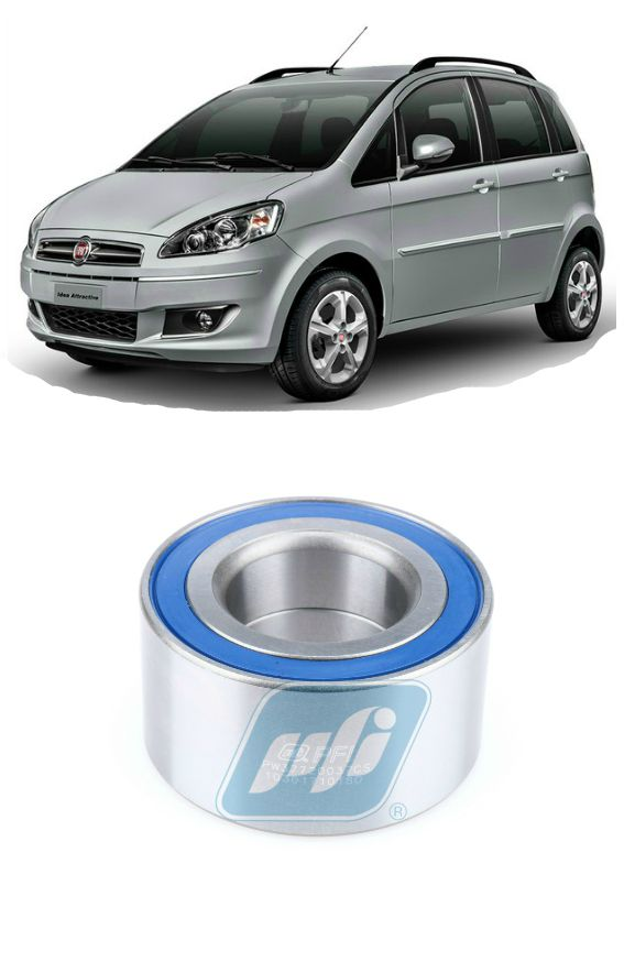 Rolamento de Roda Dianteiro FIAT Idea (1.6L/1.8L) 2004-2017 com ABS