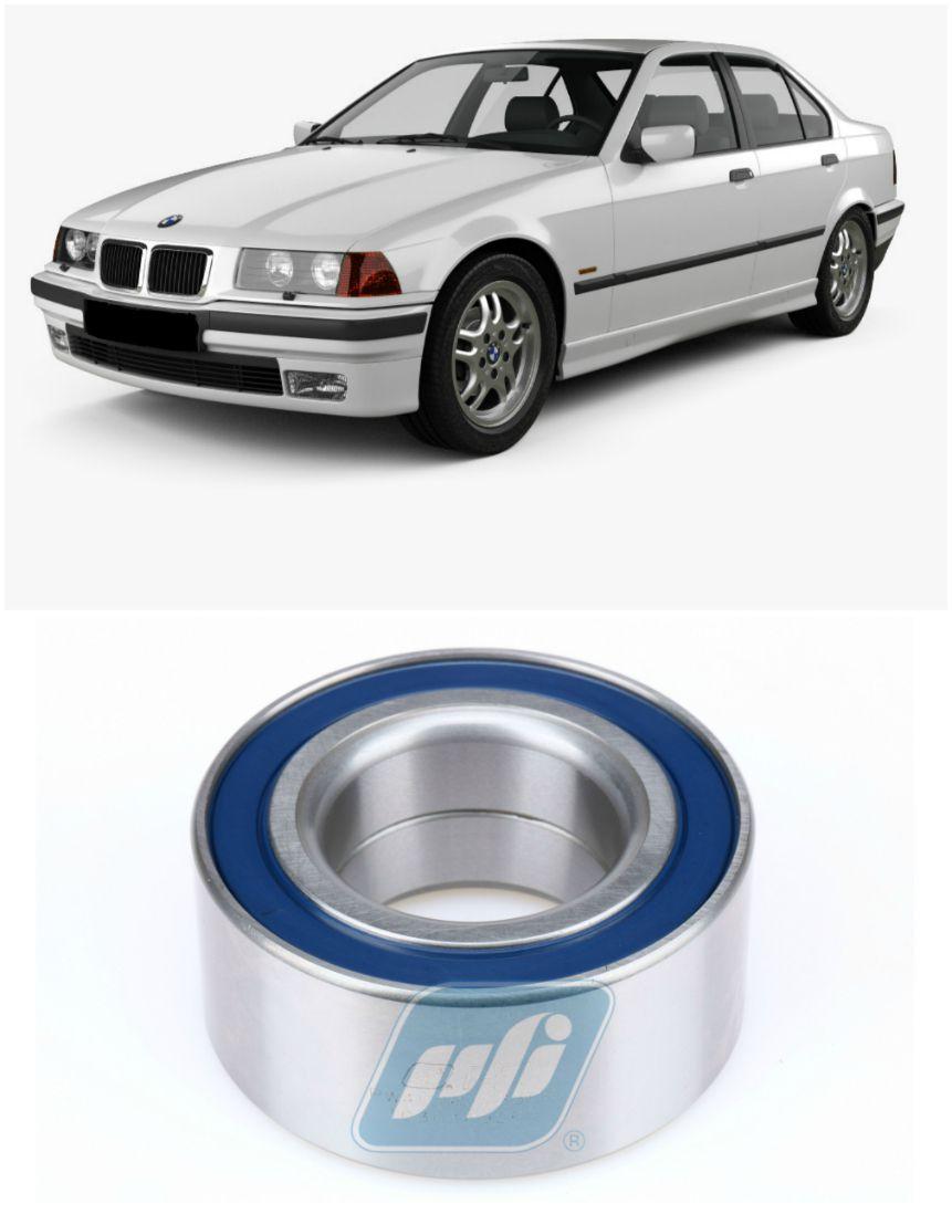 Rolamento de Roda Traseira BMW 316 1990 até 1998 com freio a disco