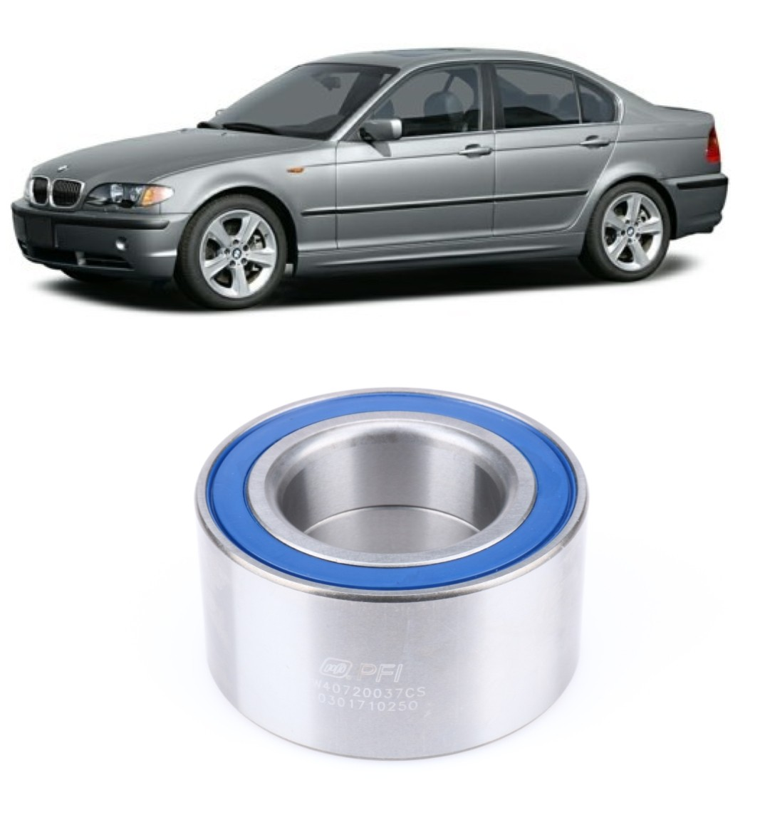Rolamento de Roda Traseira BMW 316i 2000 até 2005