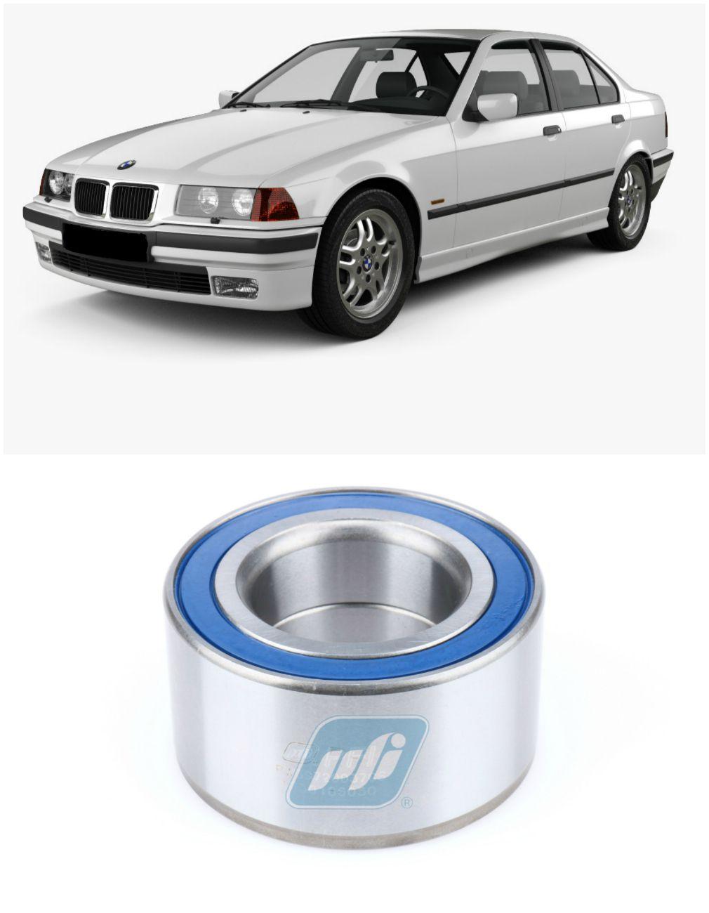 Rolamento de Roda Traseira BMW 320 1990 até 1998, freio tambor.