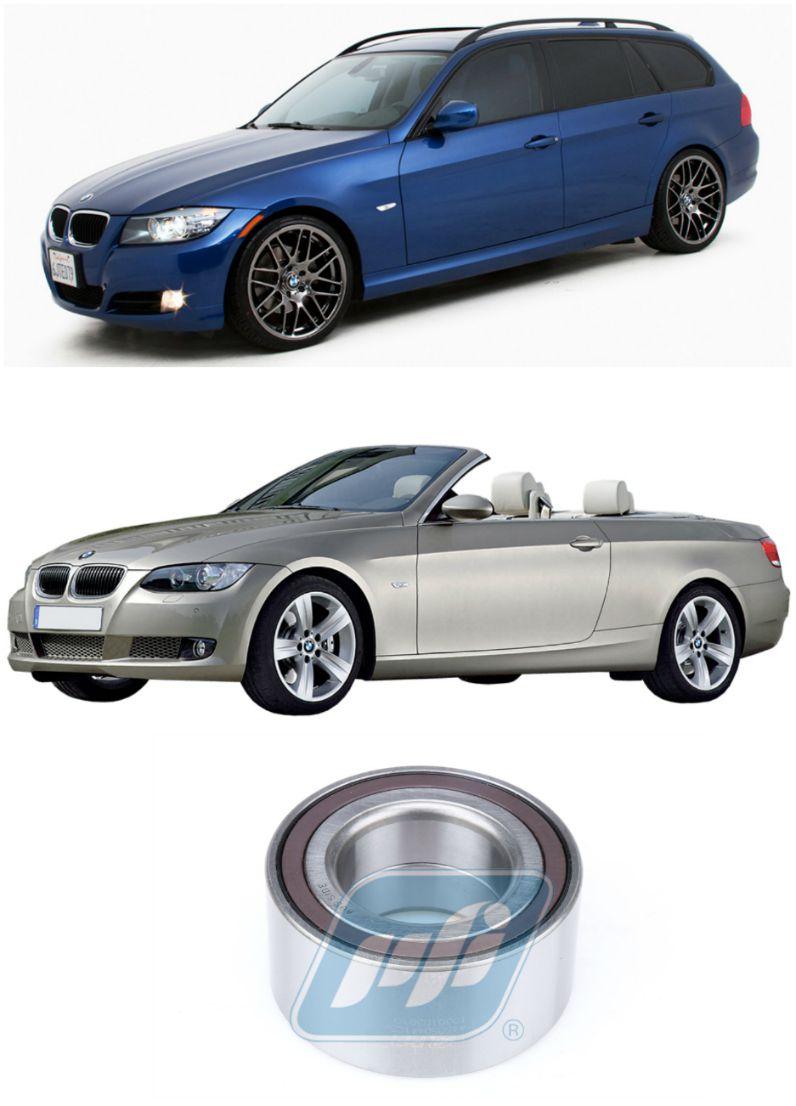 Rolamento de Roda Traseira BMW 323i E91/E93 2006 até 2012, com ABS
