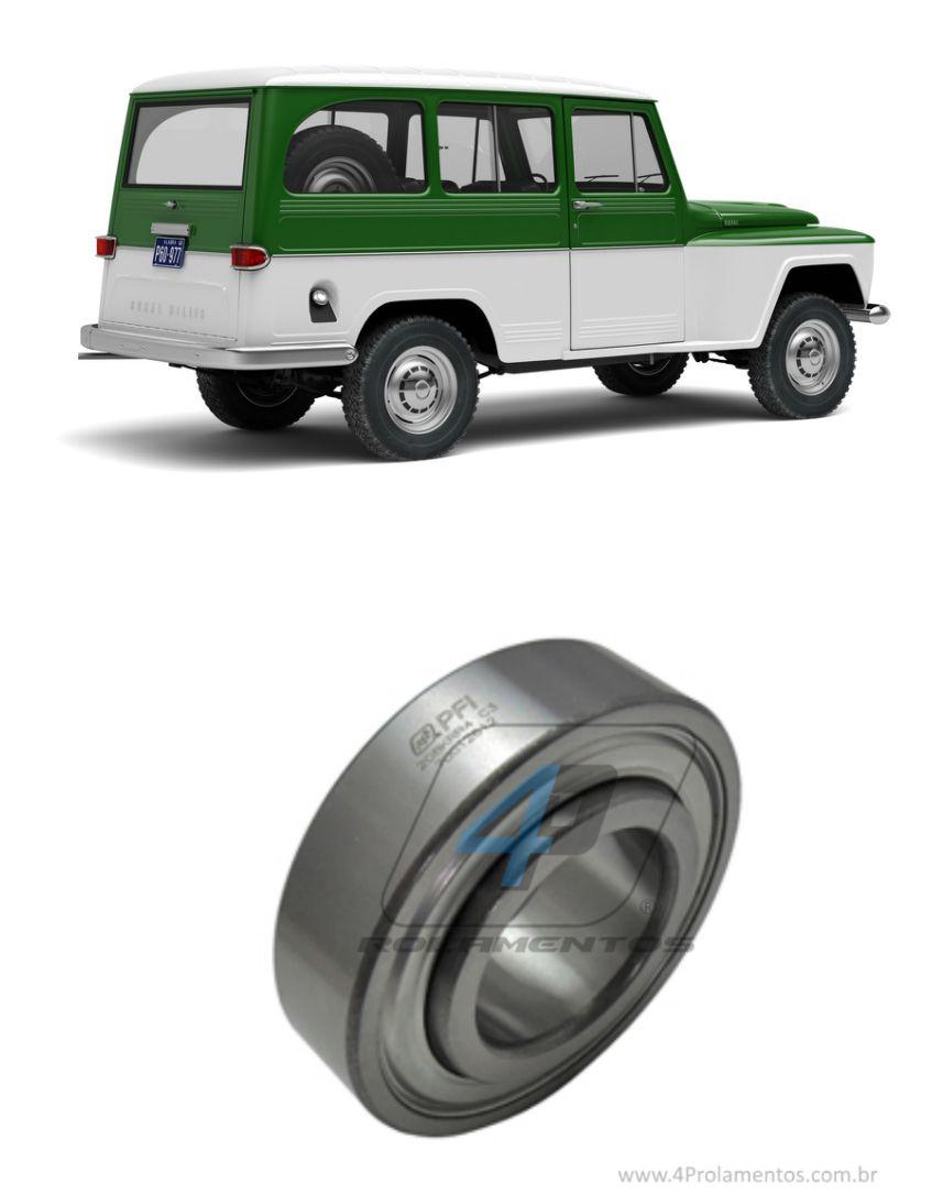 Rolamento de roda traseira Ford Rural