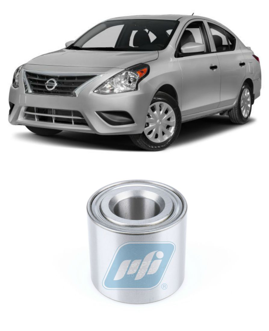 Rolamento de Roda Traseira Nissan Versa 2011-2019
