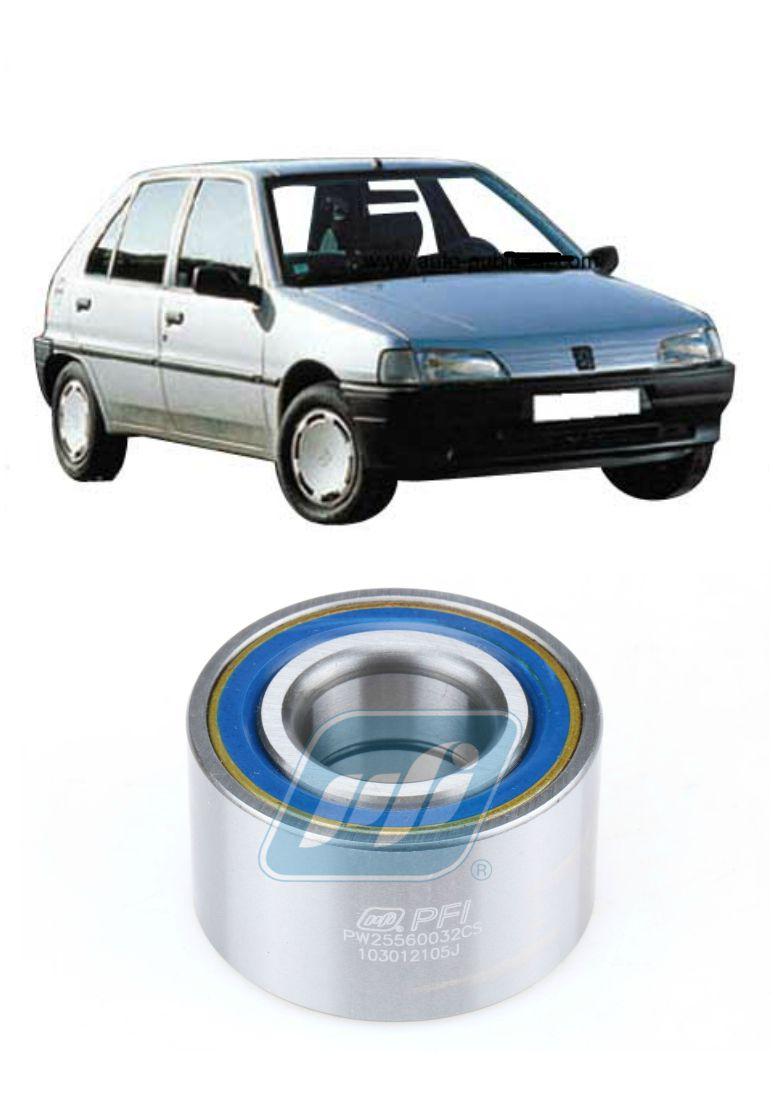 Rolamento de Roda Traseira PEUGEOT 106 (3 furos) 1991-1997