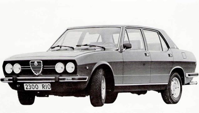 Rolamento de Roda Traseiro ALFA ROMEO 2300 Ti 1975-1985