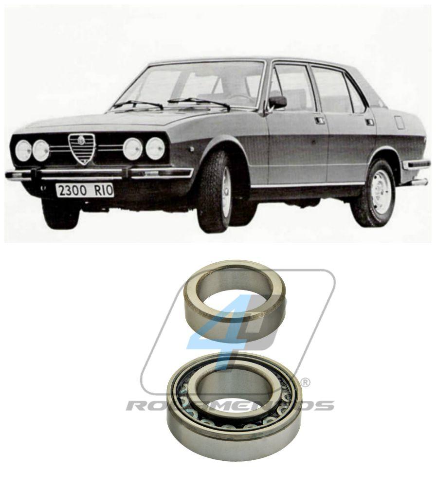 Rolamento de Roda Traseiro ALFA ROMEO 2300 Ti 1975 até 1985