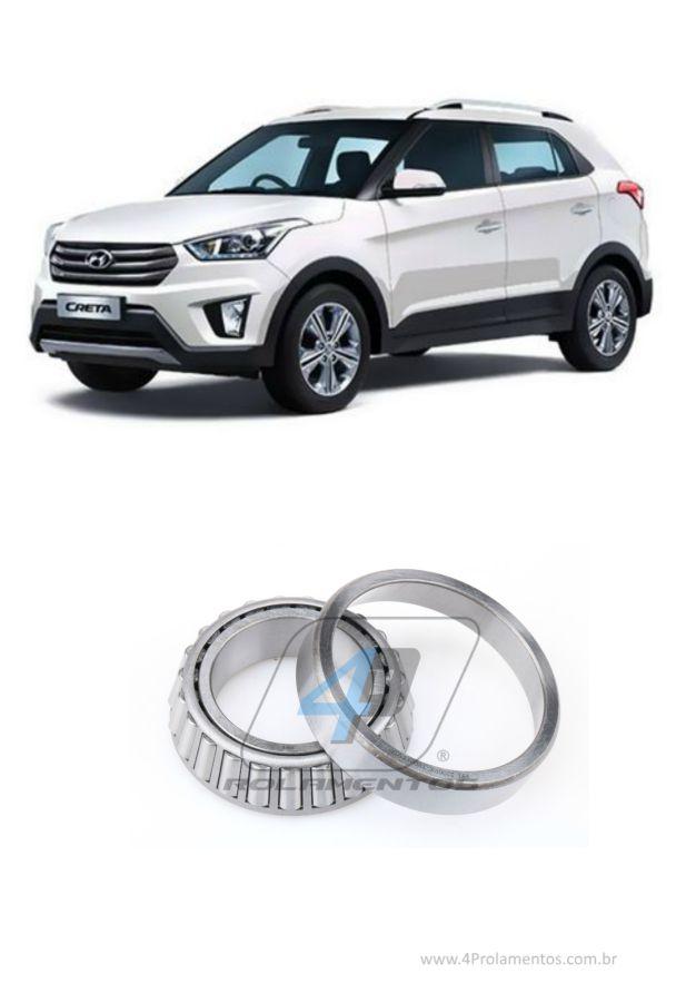 Rolamento Diferencial Hyundai Creta 2017 até 2020