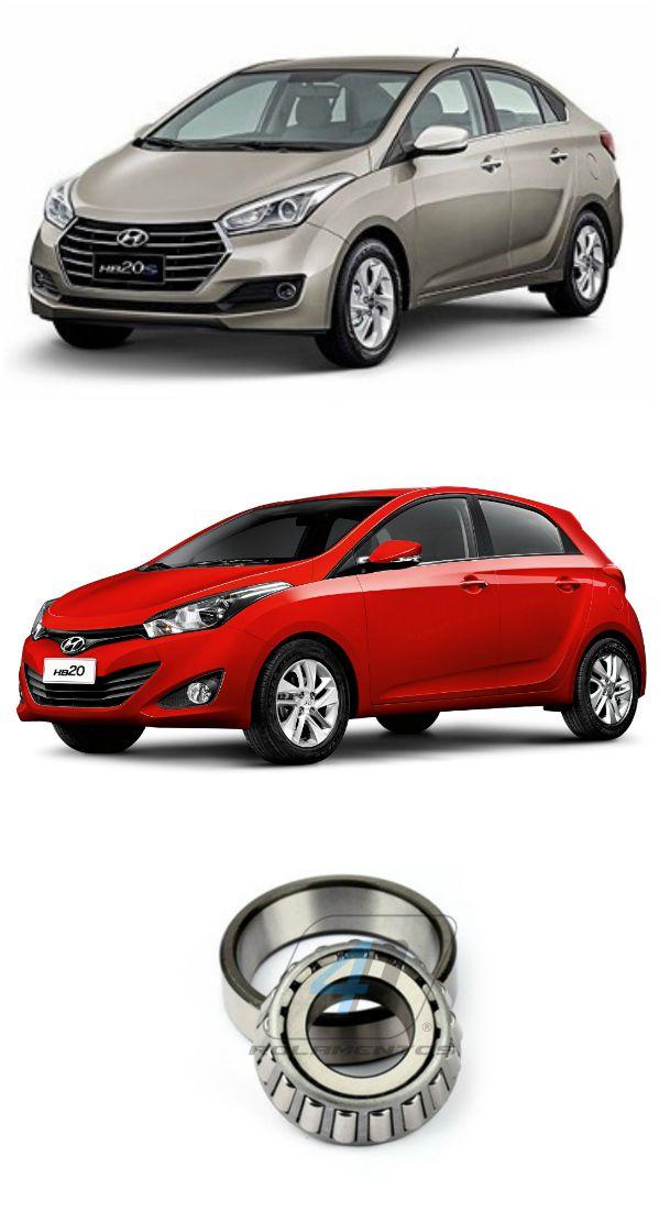 Rolamento Diferencial Hyundai HB20 (1.6L) 2012 até 2015
