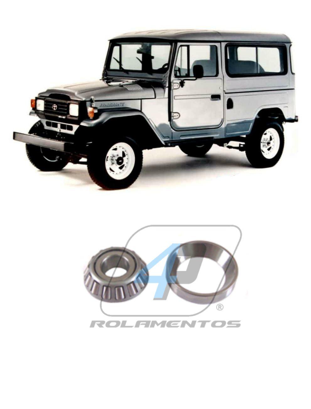 Rolamento Munhao Toyota Bandeirante 1958 até 2001