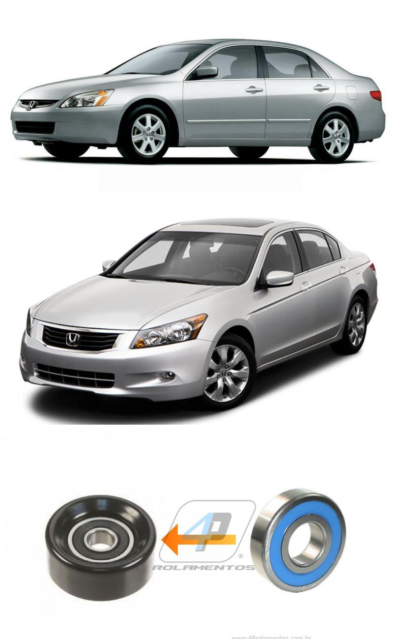 Rolamento Polia de Serviço HONDA Accord V6 de 2003 até 2012
