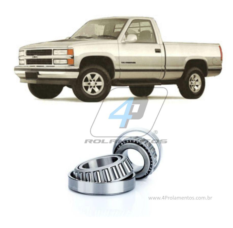 Rolamento Roda Dianteira Chevrolet Silverado 1997-2002