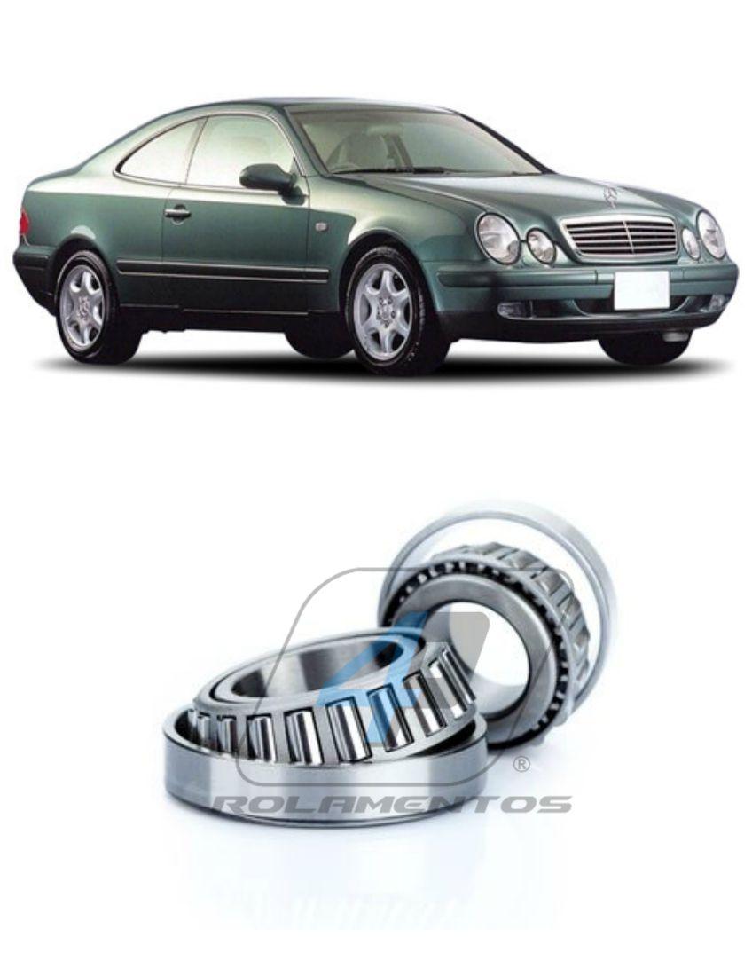 Rolamento Roda Dianteira Mercedes Benz CLK 1997 até 2002