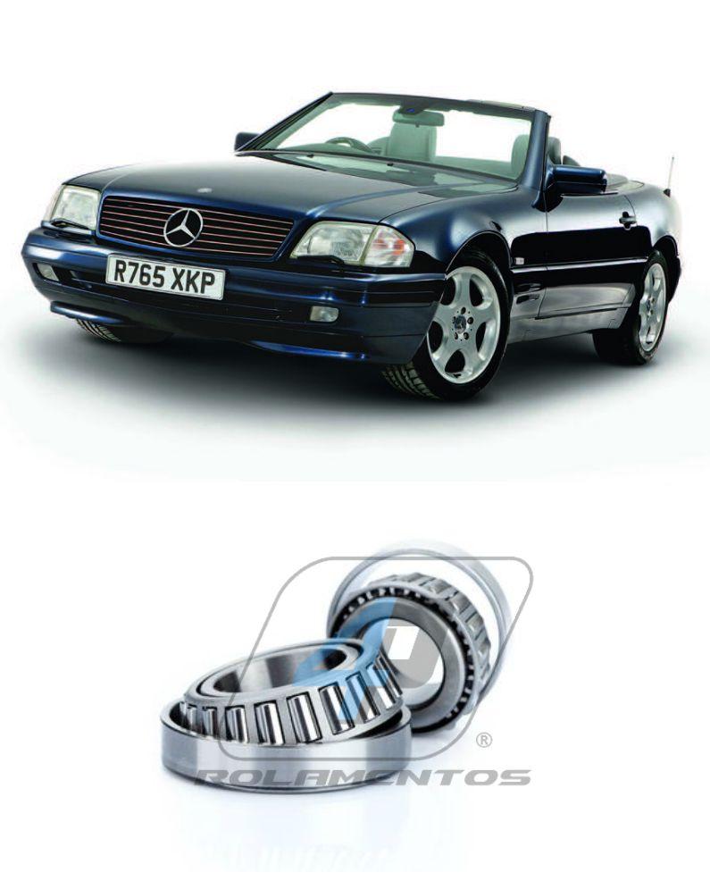 Rolamento Roda Dianteira Mercedes Benz SL 1989 até 2001