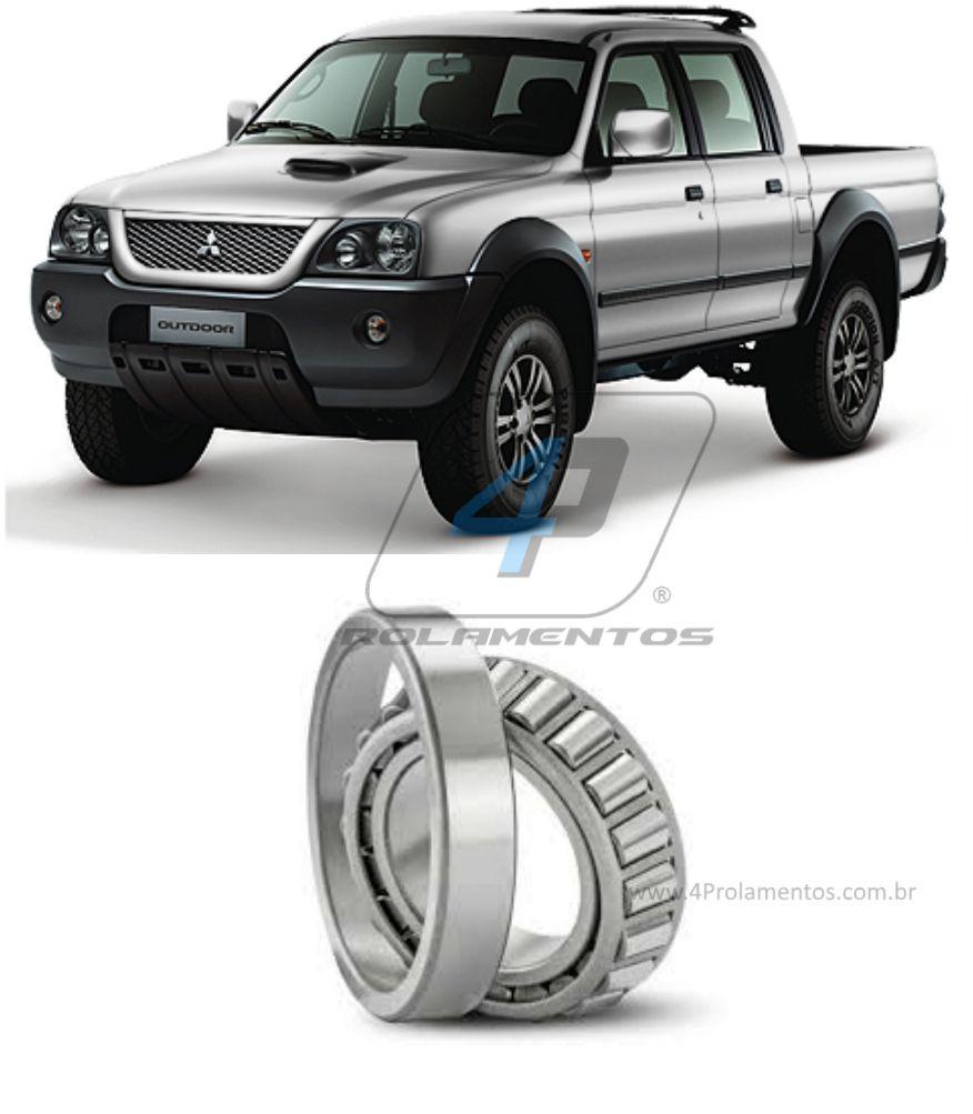 Rolamento Roda Dianteira MITSUBISHI L200 1995-2012, 4WD