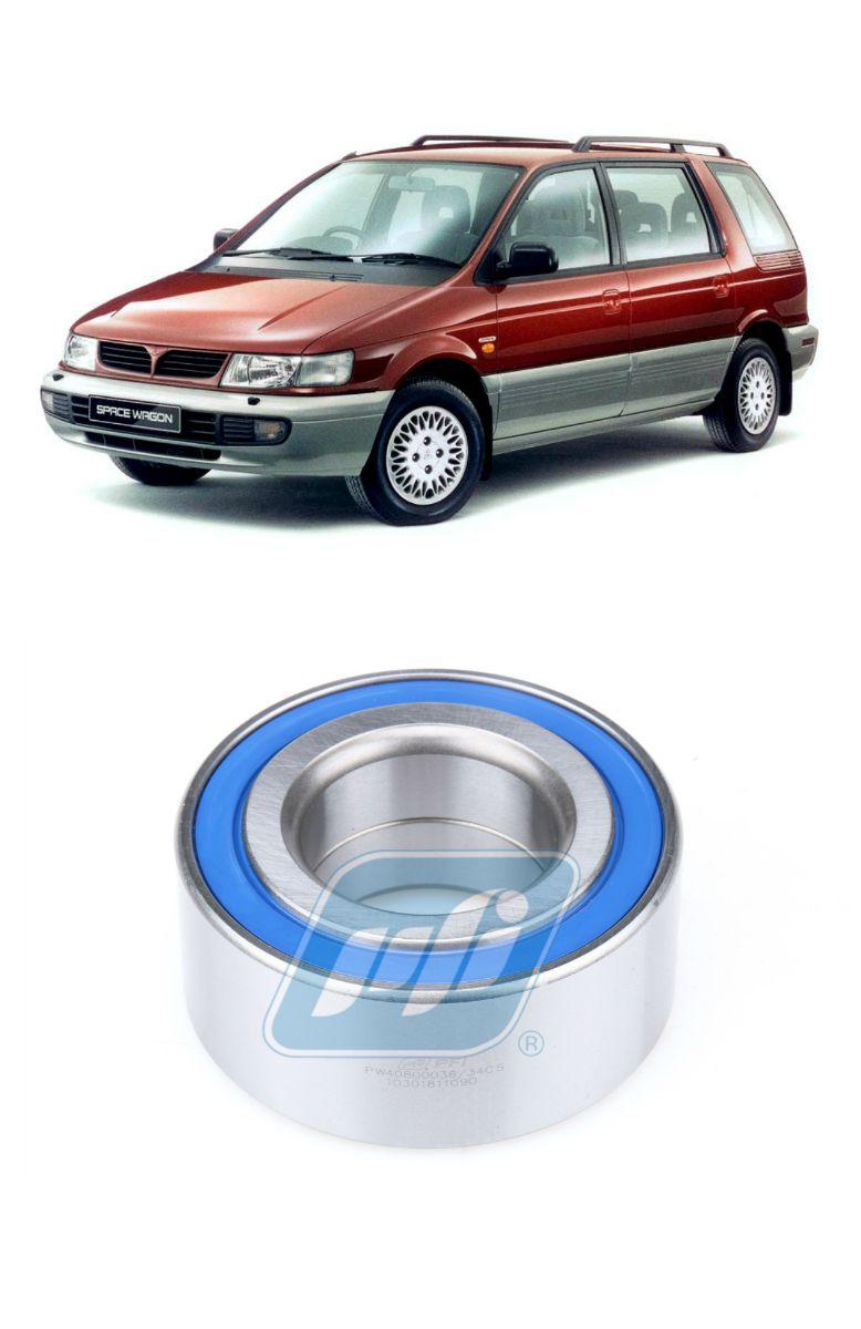 Rolamento Roda Dianteira MITSUBISHI Space Wagon 1986 até 1998
