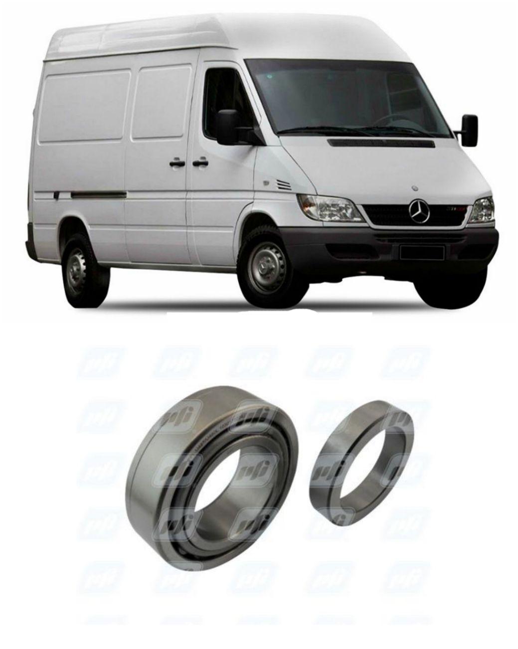 Rolamento Roda Traseira Mercedes Benz Sprinter de 1997 até 2013, HLO 15C22