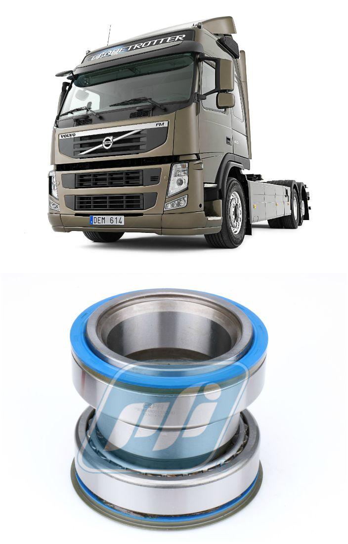 Rolamento Roda Traseira Caminhão Volvo, eixo apoio