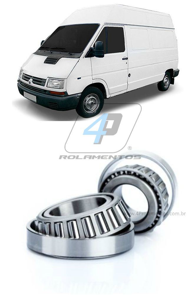 Rolamento Roda Traseira Chevrolet Trafic 1990-2000