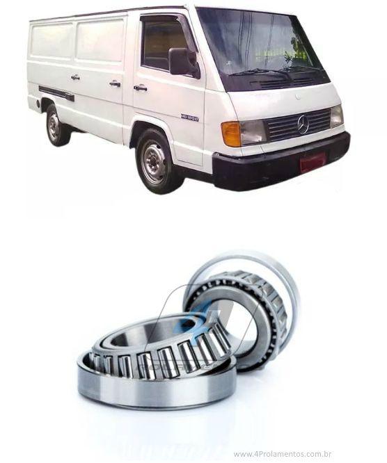 Rolamento Roda Traseira Mercedes Benz MB180 de 1993 até 1998