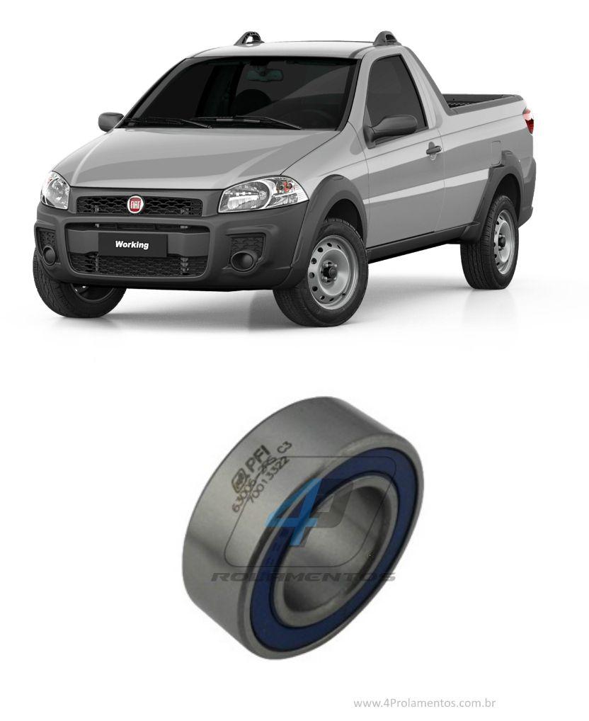 Rolamento Semi Eixo Dianteiro FIAT Strada 1.8L 2002-2019