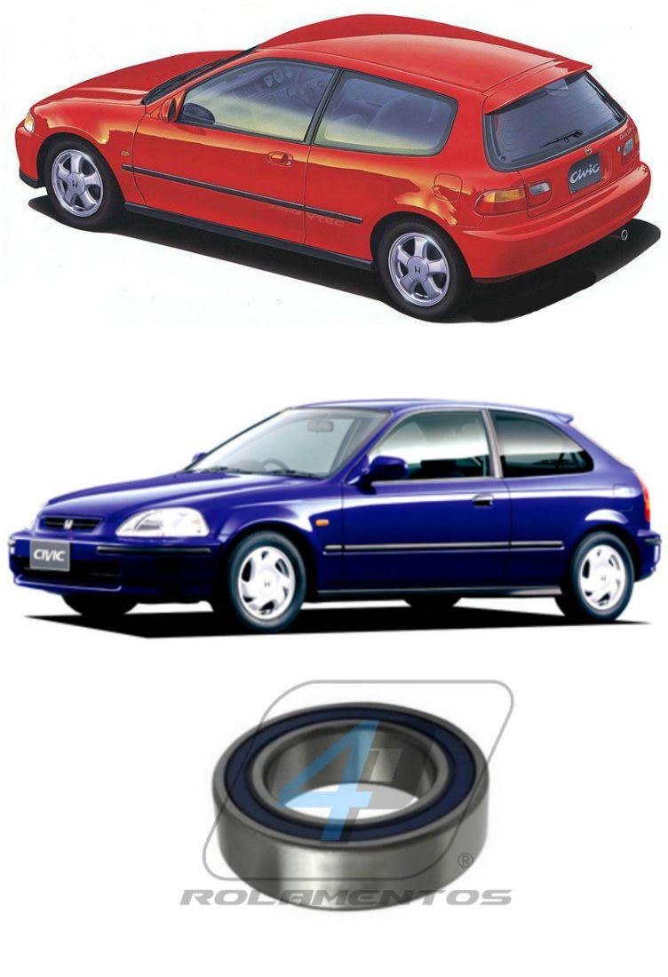 Rolamento Semi-Eixo HONDA Civic VTi 1991 até 1998
