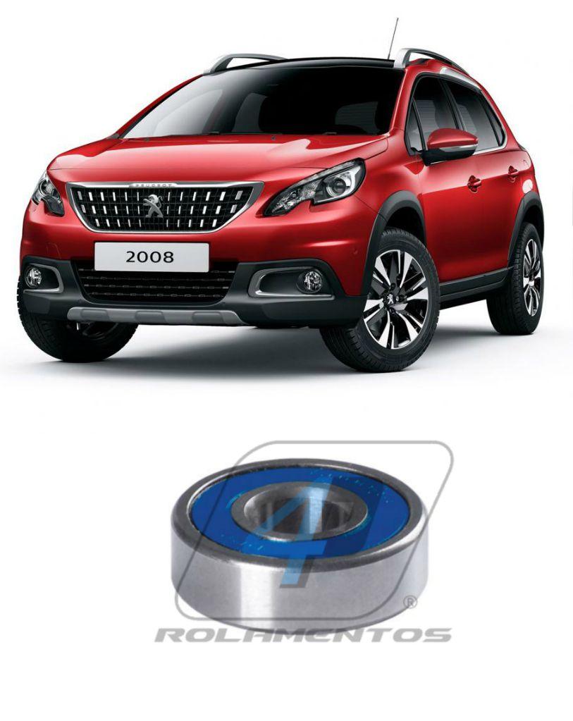 Rolamento Semi Eixo Peugeot 2008 de 2015 até 2019