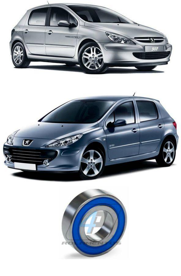 Rolamento Semi Eixo Peugeot 307 2000 até 2012