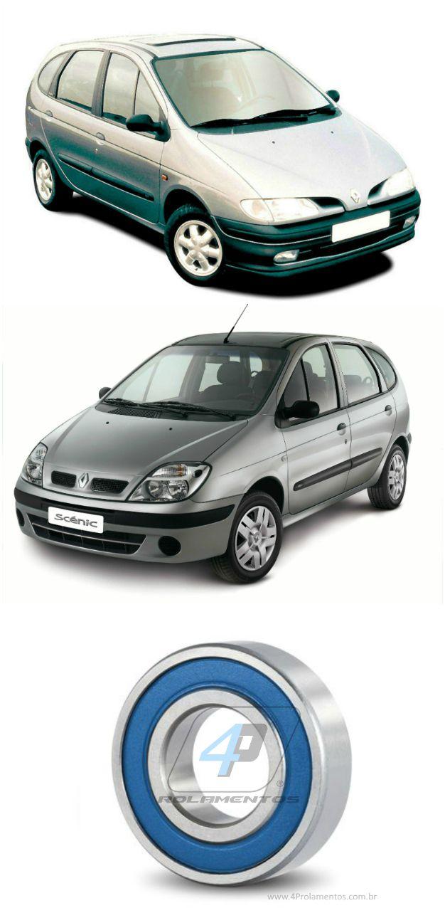 Rolamento Semi Eixo Renault Scenic de 2000 até 2011