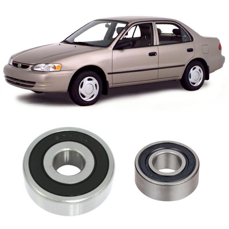 Rolamentos Alternador TOYOTA Corolla 1991 até 1997