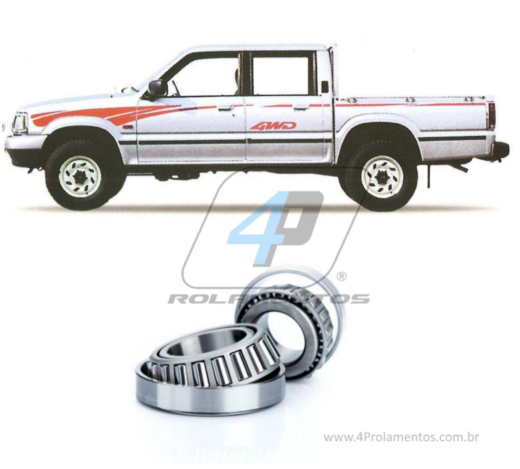 Rolamentos de Roda Dianteiro MAZDA B2200/B2500 1987-1999, 4x4
