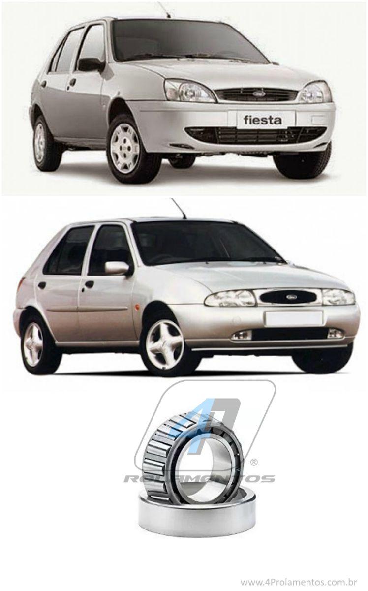 Rolamentos  de roda Traseira Fiesta (par) 1995-2002