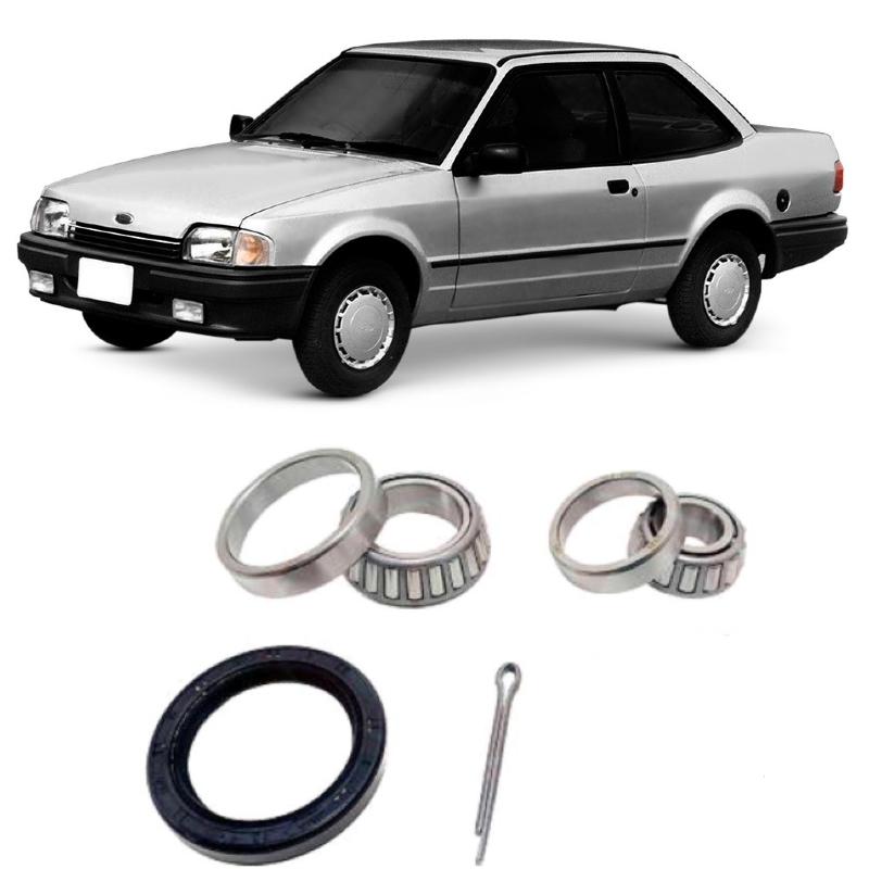 Rolamentos de roda Traseira Ford Verona de 1990 até 1993