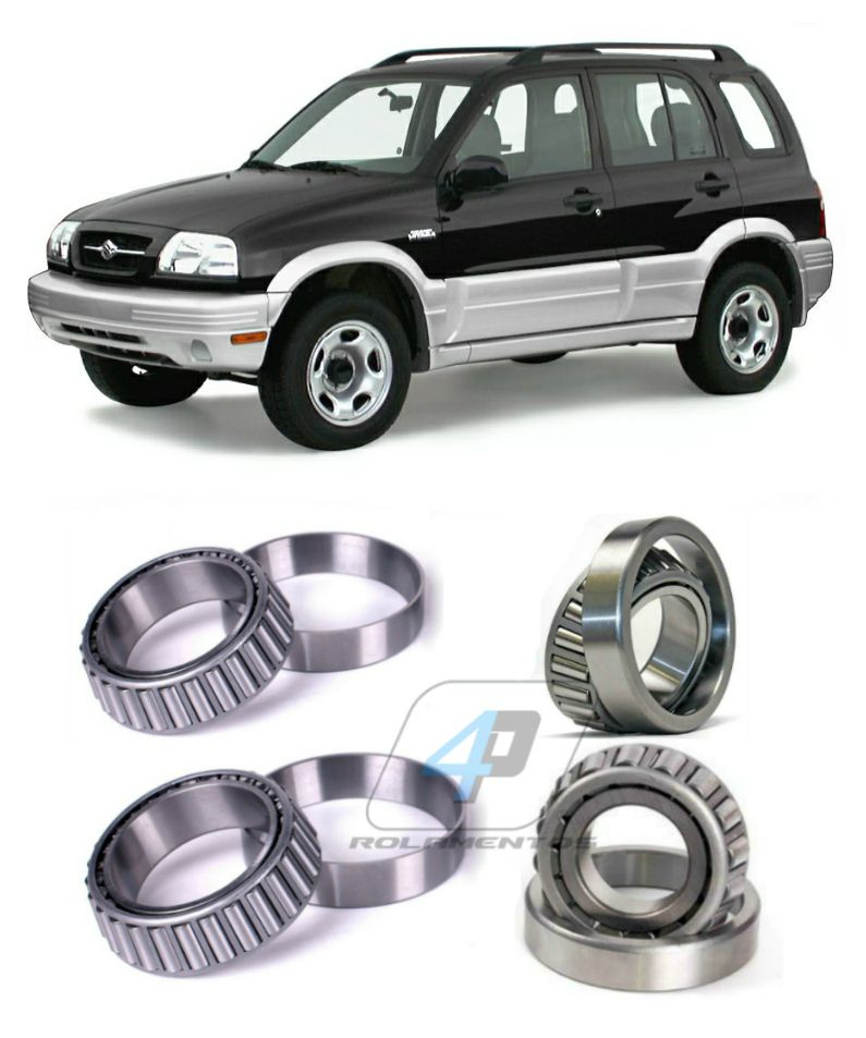 Rolamentos Diferencial Dianteiro Suzuki Grand Vitara, 1998-2005