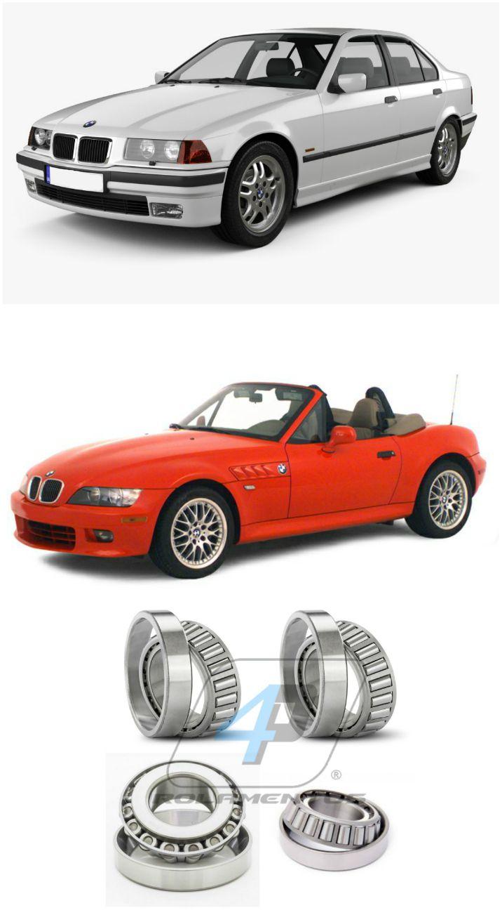 Rolamentos Diferencial Traseiro BMW 3 (E36) 1990-1998