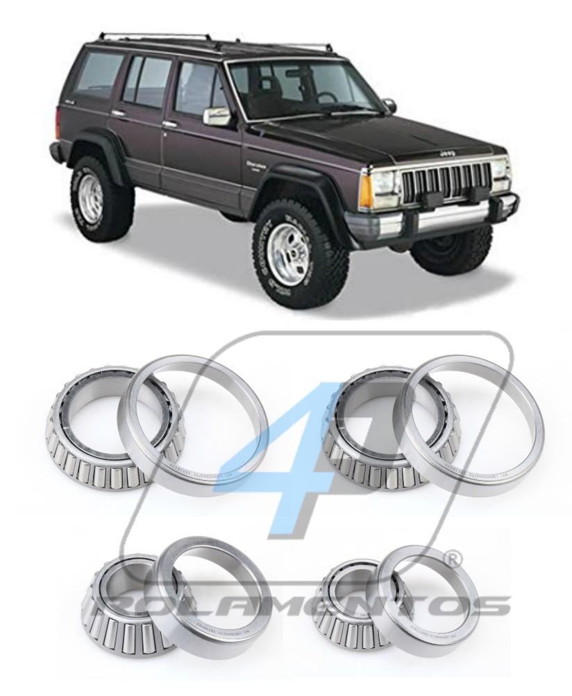 Rolamentos Diferencial Traseiro Jeep Cherokee 1991 até 2001 Dana 35
