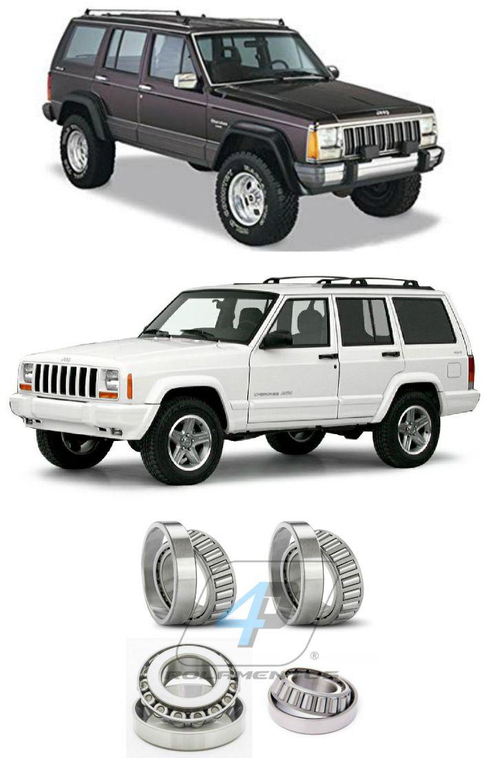 Rolamentos Diferencial Traseiro Jeep Cherokee de 1982 até 2001, Chrysler 8.25