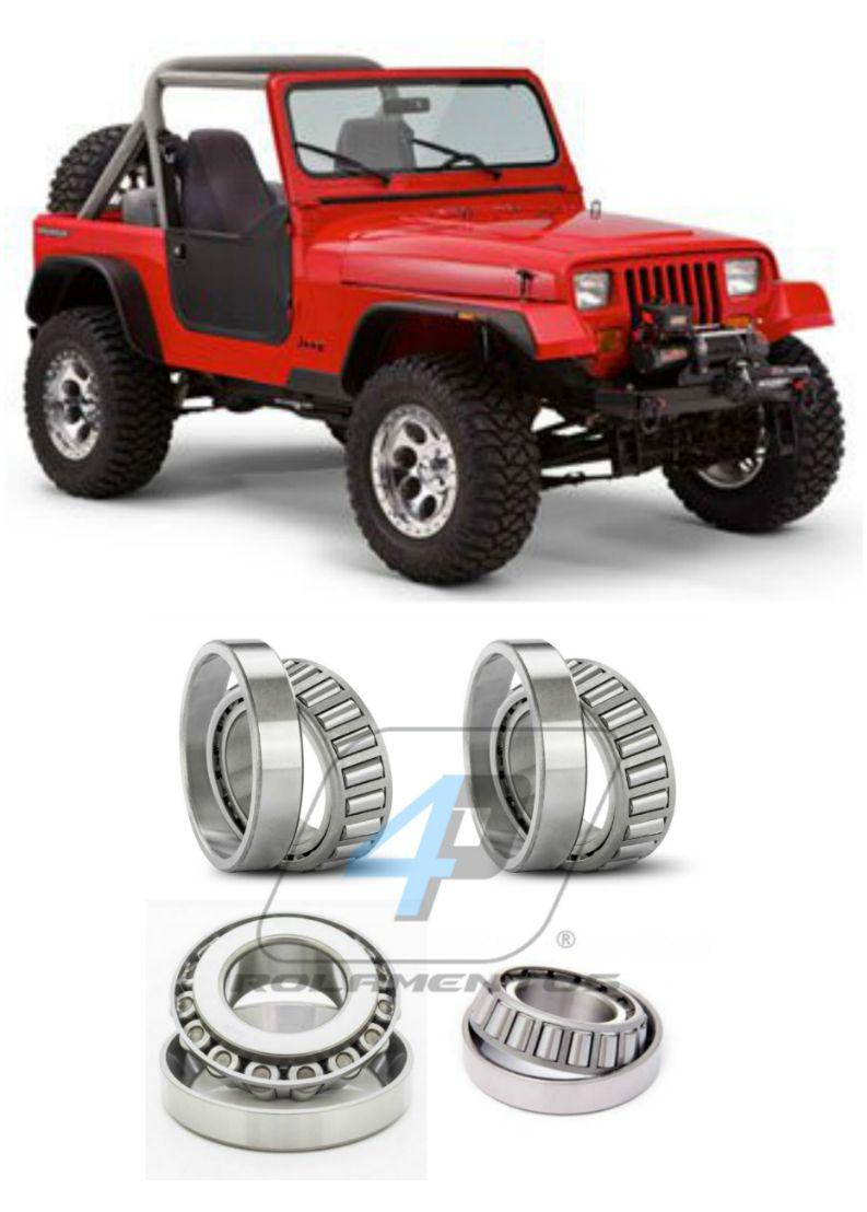 Rolamentos Diferencial Traseiro Jeep Wrangler de 1987 até 1995, Dana 35