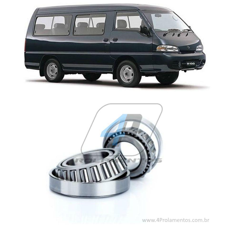 Rolamentos Roda Dianteira Hyundai H100 1993-2004