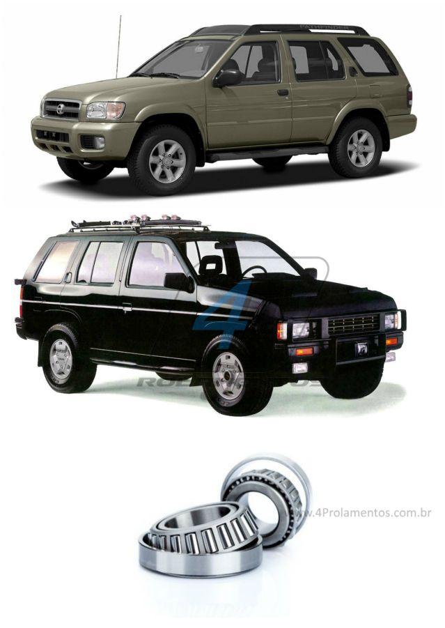 Rolamentos Roda Dianteira NISSAN Pathfinder 1987-2003