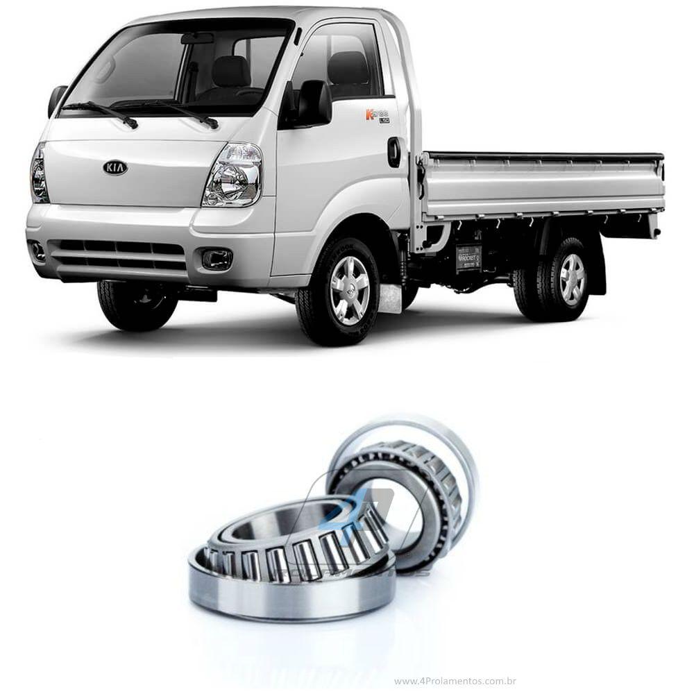 Rolamentos Roda Dianteiro Kia Bongo 1999-2011, 4x4