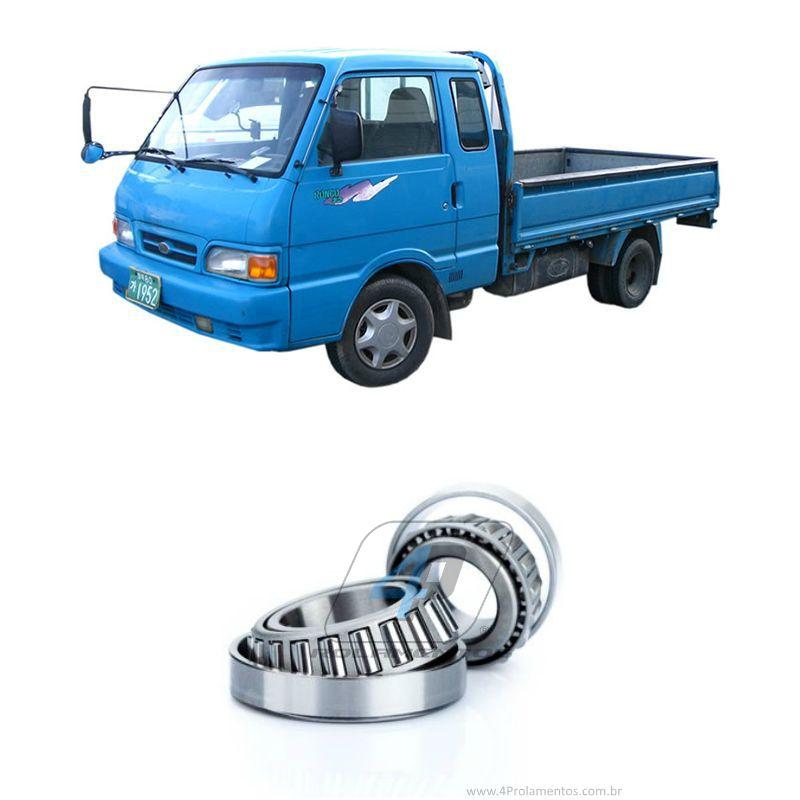 Rolamentos Roda Dianteiro Kia Bongo K2400 1992-1997