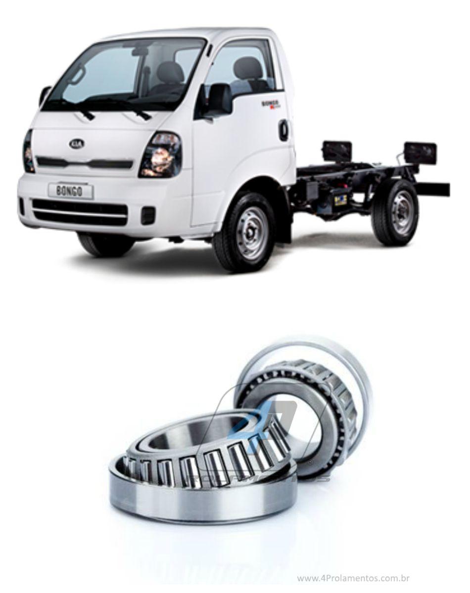 Rolamentos Roda Traseira Kia Bongo 2006-2019, roda simples