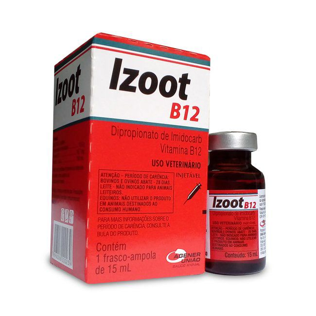 IZOOT B12 INJETÁVEL - 15 ML