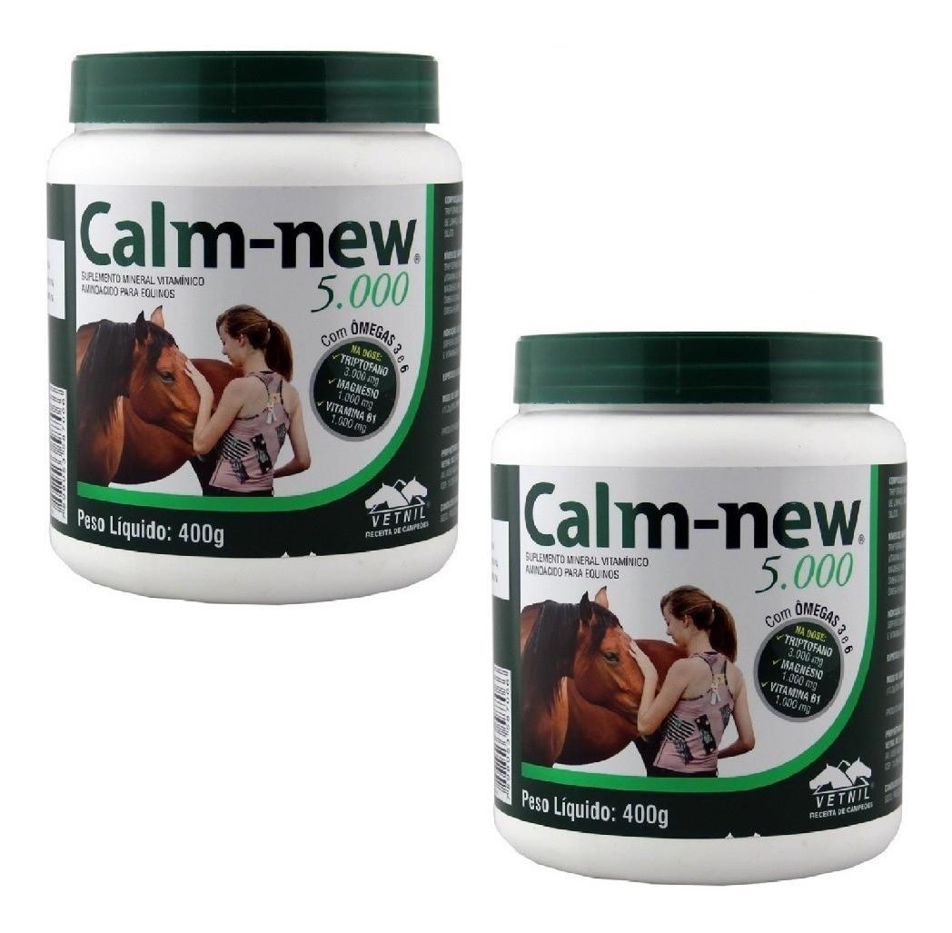 Suplemento Vitamínico Calm New 5000 Vetnil 400g